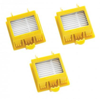 Filtry HEPA filtr iRobot 4503461 pro Roomba 700, 3ks