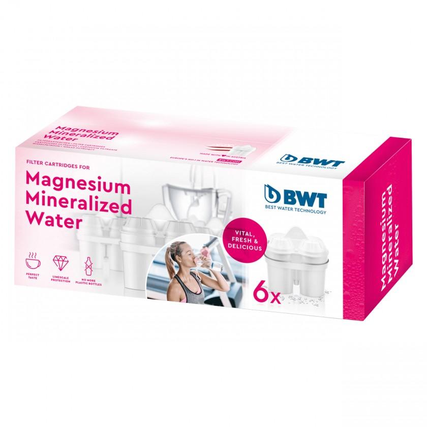 Filtry Náhradní filtry pro filtrační konvice BWT, 6ks