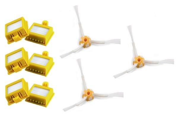 Filtry Náhradní HEPA filtry k vysavačům iRobot 700 Series, 3kusy