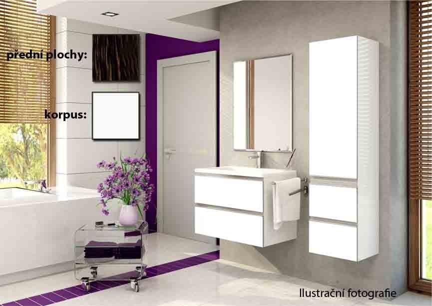 Firenze - Koupelnová sestava (guyana,boky bílé)