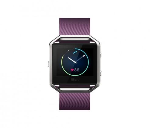 Fitbit Blaze Large, plum/silver
