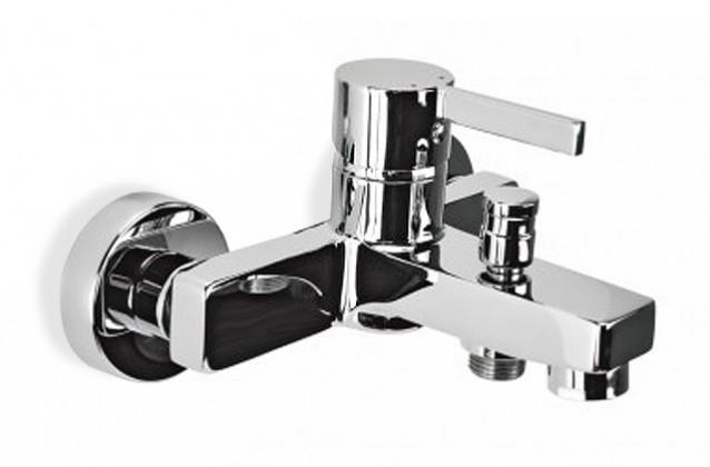Flaks - Vanová baterie nástěnná bez sprchového kompletu (chrom)