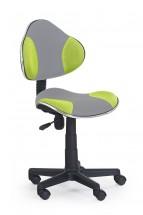 Flash 2- dětská židle (šedo-zelená)