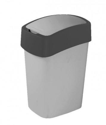 FLIPBIN, 50l (plast,šedá)