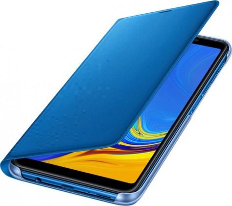 Flipové pouzdro Samsung Galaxy A7 (2018) modré