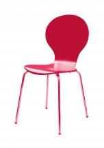 Flower - Jídelní židle (fuchsiová)