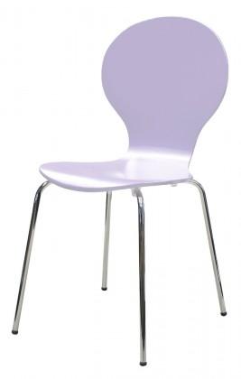 Flower - Jídelní židle (lila)