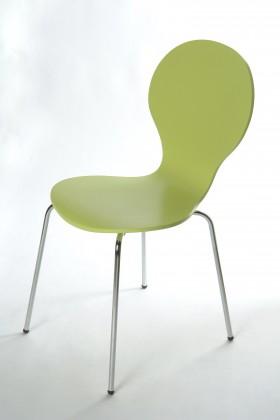 Flower - Jídelní židle (limetková)
