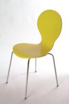 Flower - Jídelní židle (žlutá)