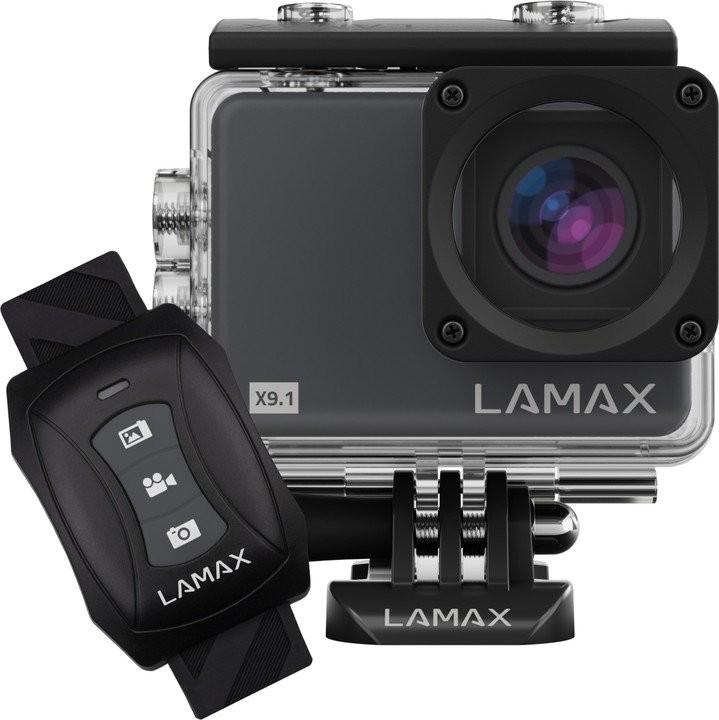 """Foto, kamery ZLEVNĚN Akční kamera Lamax X9.1, 2"""", 4K, Wifi, 170°, OIS, POUŽITÉ"""