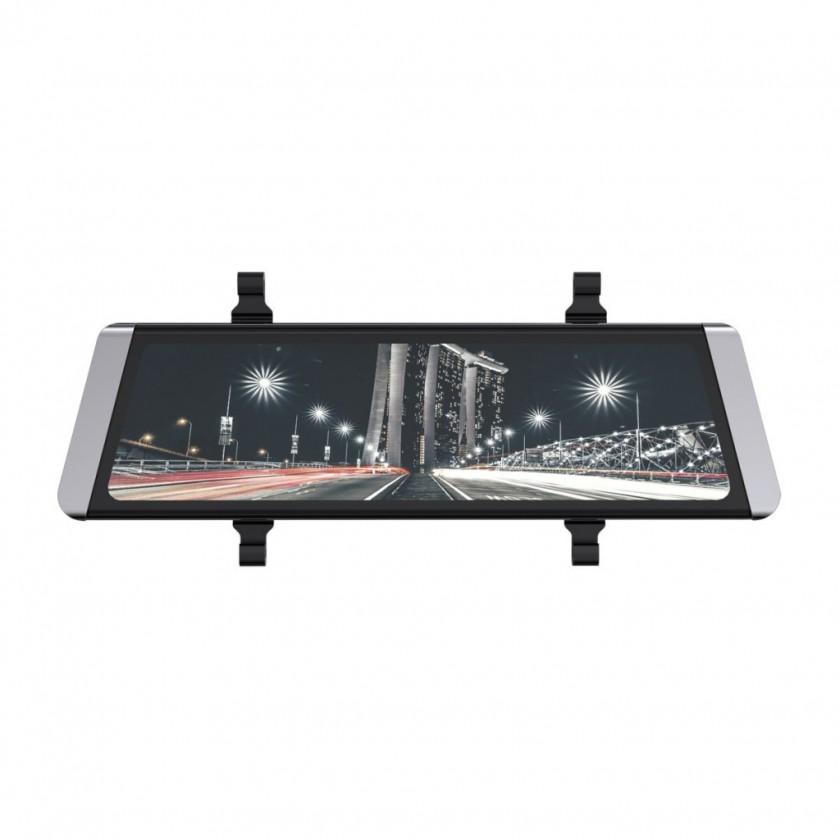 Foto, kamery ZLEVNĚN Autokamera Cel-Tec M10 GPS Premium, zrcátko + zadní kamera