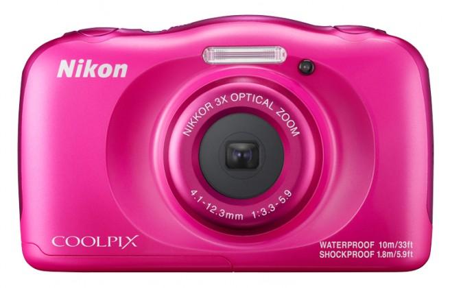 Foto, kamery ZLEVNĚNO Nikon Coolpix W100 Pink POUŽITÉ, NEOPOTŘEBENÉ ZBOŽÍ