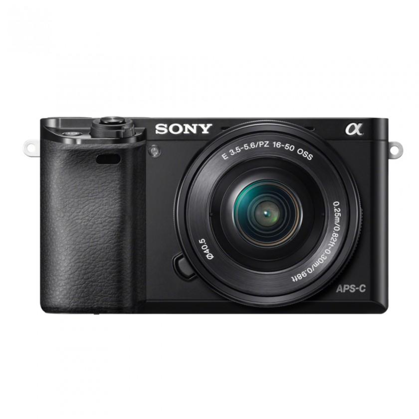 Foto, kamery ZLEVNĚNO Sony Alpha 6000, 16-50mm, Black (ILCE6000LB.CEC) POUŽITÉ