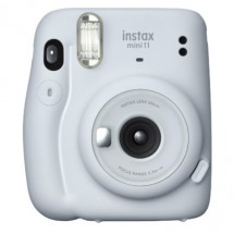 Fotoaparát Fujifilm Instax Mini 11, bílá + ZDARMA Fotopapír 10ks