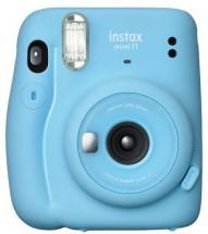 Fotoaparát Fujifilm Instax Mini 11, modrá + fotopapír 10ks