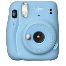 Fotoaparát Fujifilm Instax Mini 11, modrá + ZDARMA Fotopapír 10ks