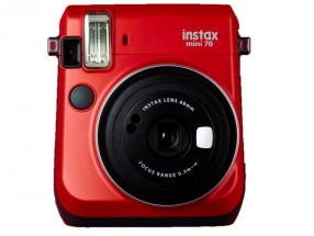 Fotoaparát Fujifilm Instax Mini 70, červená