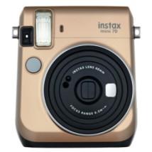 Fotoaparát Fujifilm Instax Mini 70, zlatá