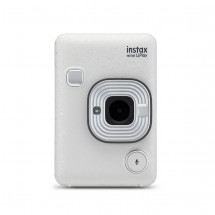 Fotoaparát Fujifilm Instax Mini LiPlay, bílá + ZDARMA Fotopapír 10ks