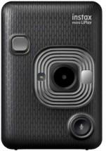 Fotoaparát Fujifilm Instax Mini Liplay, tmavě šedá + ZDARMA Fotopapír 10ks