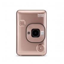 Fotoaparát Fujifilm Instax Mini LiPlay, zlatá + ZDARMA Fotopapír 10ks