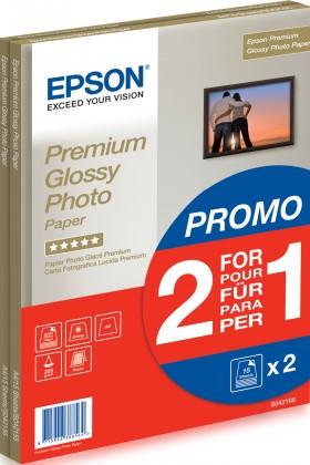 Fotopapír EPSON Paper A4 Premium Glossy Photo 255g/m2 (2x15 sheet) 2 za cen