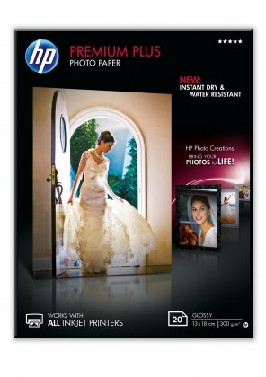 Fotopapír Fotografický papír HP CR676A, lesklý, 13x18cm, 20ks