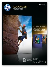 Fotopapír HP Q5456A, A4, 250 g/m2, 25 ks