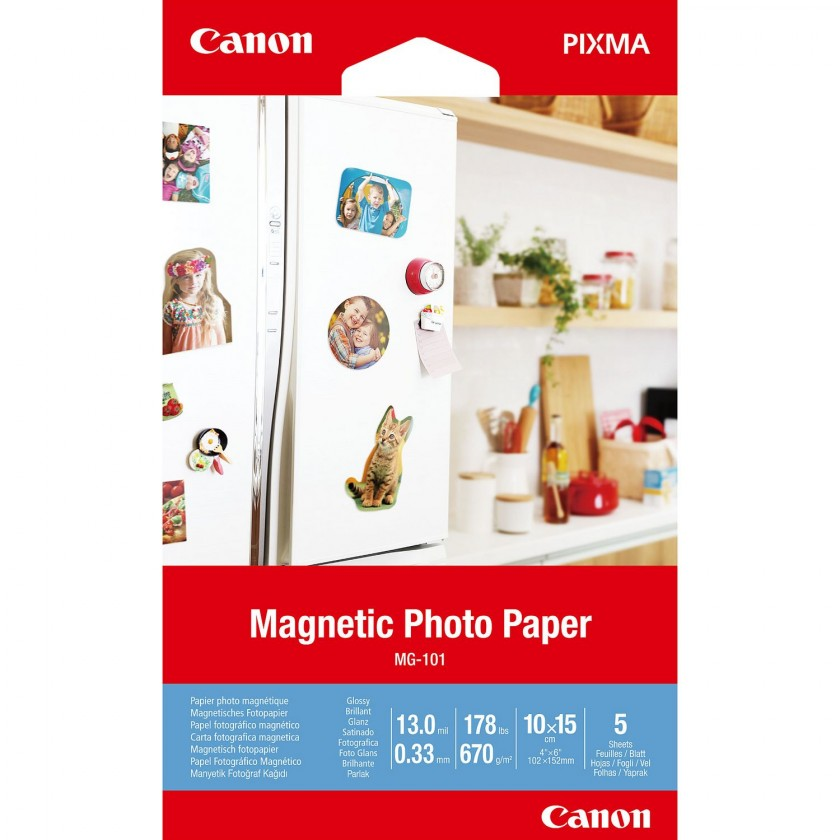 Fotopapír Magnetic Photo Paper Canon 3634C002 MG-101