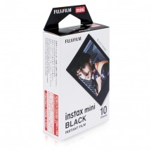 Fotopapír pro Fujifilm Instax Mini, 10ks, černá