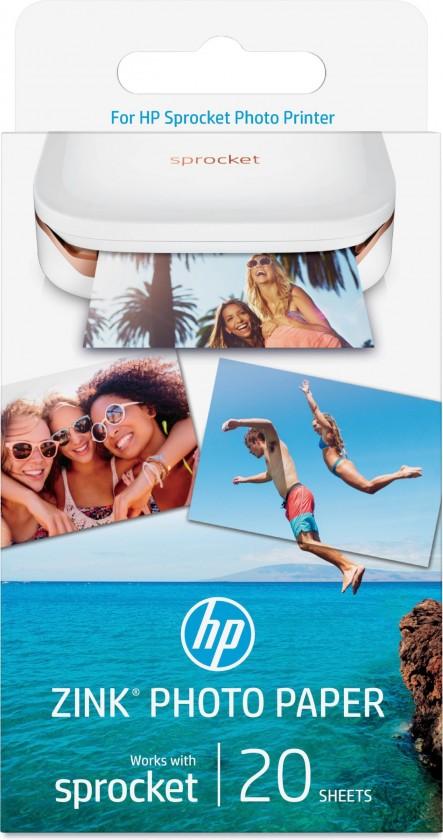 Fotopapír Samolepící fotopapír HP ZINK Sprocket W4Z13A