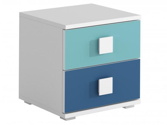 FOX 12 - Noční stolek (modrá)