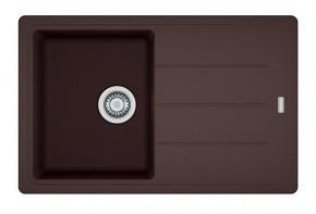 Franke - dřez Fragranit BFG 611-78, 780x500 (tmavě hnědá)