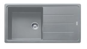 Franke - dřez Fragranit BFG 611, 970x500 (šedý kámen)