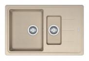 Franke - dřez Fragranit BFG 651-78, 780x480 (pískový melír)