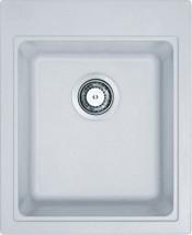 Franke - dřez Fragranit KSG 218,, 425x520 mm (bílá-led)