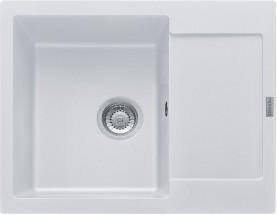 Franke - dřez Fragranit MRG 611-62, 620x500, (bílá-led)