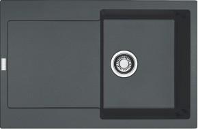 Franke - dřez Fragranit MRG 611, 780x500 (grafit)