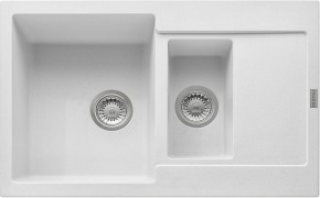 Franke - dřez Fragranit MRG 651-78, 780x500 (bílá-led)