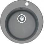 Franke - dřez Fragranit ROG 610, 510 mm (šedý kámen)