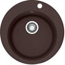 Franke - dřez Fragranit ROG 610, 510 mm (tmavě hnědá)