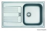 """Franke - dřez nerez EFL 614-78 3 1/2"""", 780x475 mm (stříbrná)"""