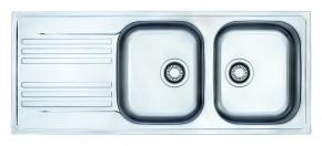 "Franke - dřez nerez EFN 621 3 1/2"", 1160x475 mm (stříbrná)"