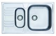"Franke - dřez nerez EFN 651-78 3 1/2"", 780x475 mm (stříbrná)"