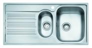 """Franke - dřez nerez GOX 651 7 3 1/2"""", 1000x510 mm (stříbrná)"""
