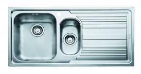 """Franke - dřez nerez LLX 651 2 3 1/2"""", 1000x500 mm (stříbrná)"""