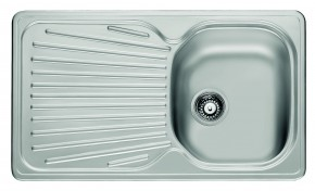 """Franke - dřez nerez MON 611 3 1/2"""", 860x500mm (stříbrná)"""