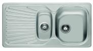 """Franke - dřez nerez MON 651 3 1/2"""", 965x500mm (stříbrná)"""