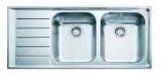 """Franke - dřez nerez NEX 621 7 3 1/2"""", 1160x510 mm (stříbrná)"""