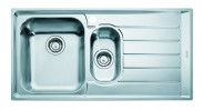 """Franke - dřez nerez NEX 651 2 3 1/2"""", 1000x510 mm (stříbrná)"""